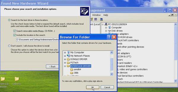 USB-Treiber-Tech FG