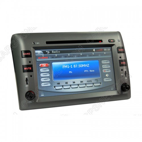 2002-2010 Fiat Stilo GPS Navigation DVD with Radio TV