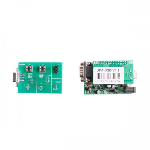 2012 New UPA USB Programmer V1.2 with Full Adaptors Green Color