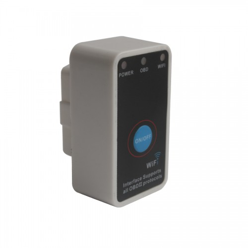 Super V1.5 Mini ELM327 WiFi with Switch Work with IPhone OBD-II OBD Can Code Reader Tool Software V2.1
