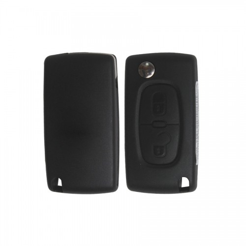 Original Flip Remote Key 2 Button with ID46 Chip for Peugeot 307
