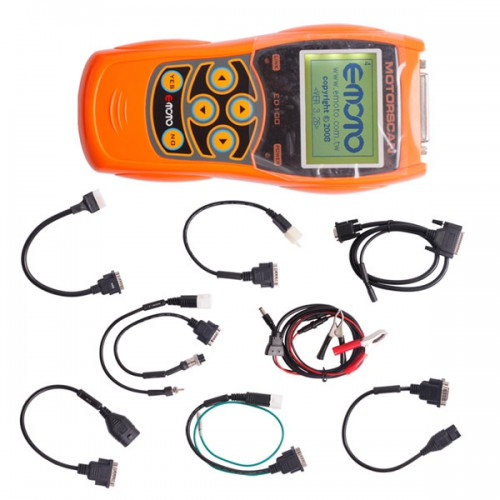 ED100 Motorcycle Scan Tool 6 in 1 Handheld Motor Diagnostic Tool