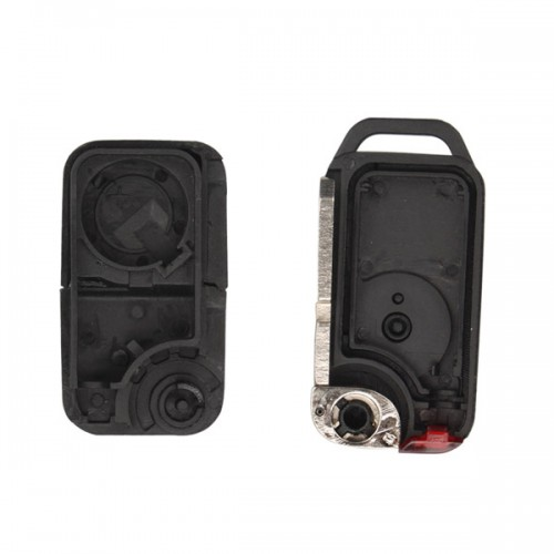 Remote Key Shell Cover 1 Button 4 Track HU39 for Benz 5pcs/lot