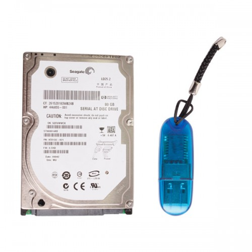 Super VCADS Hard Disk D630 Format and USB Dongle for Volvo