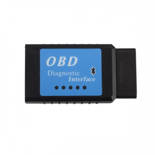 V2.1 ELM327 Bluetooth Version CAN BUS EOBD OBDII Scan Tool