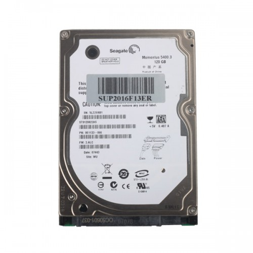 Hard Disk for Super MB Star 2018.9 Dell D630 Format