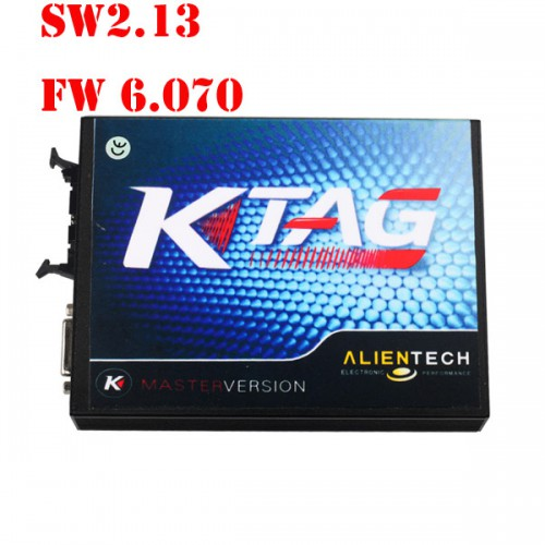 V2.13 KTAG K-TAG Firmware V6.070 ECU Programming Tool Master Version with Unlimited Token ECM TITANIUM V1.61 18295 Drivers