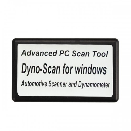 Dyno-Scanner for Dynamometer and Windows Automotive Scanner