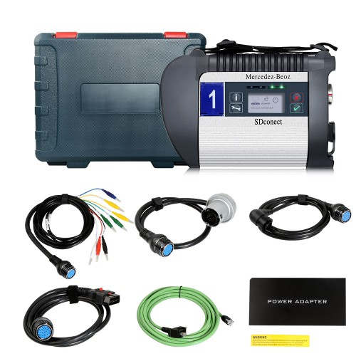 V2019.9 SSD New MB SD Connect Compact 4 DoIP Star Diagnosis Xentry Vediamo, Engineer Software for Old Benz & New to 2018 2019 Year