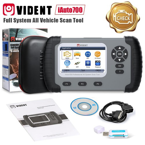 Vident iAuto 700 Professional Alle System-Scan-Tool Kostenloser Versand