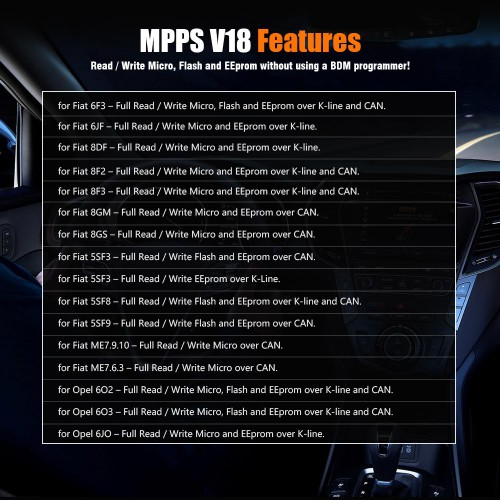 MPPS V18 Master Version MAIN + TRICORE + MULTIBOOT mit Breakout Tricore Cable