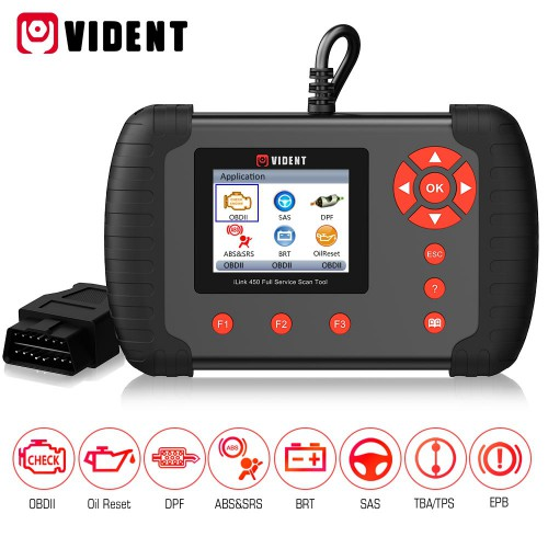 VIDENT iLink450 ABS SRS Reset / DPF / Batterie Konfiguration Full Service Tool