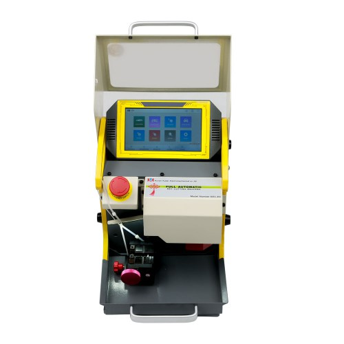 SEC-E9 CNC Automated Key Cutting Machine Work on Car, Truck, Motorcycle, House Key, Dimple & Tubular Keys