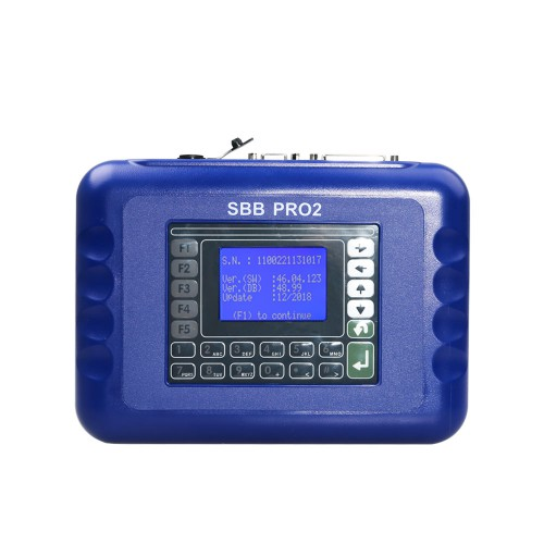 SBB Pro2 Key Programmer Updated to V48.99 Can Support New Cars to 2017 Replace SBB 48.88