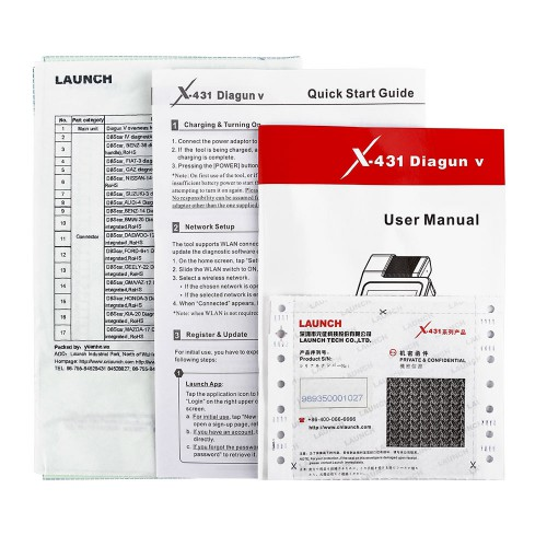 LAUNCH X-431 Diagun V Powerful Diagnotist Tool FULL Version