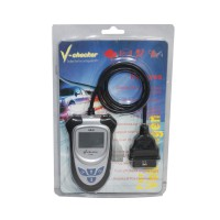 Clearing Price V-CHECKER V101 OBD2 Code Reader without CAN BUS English Finnish Version