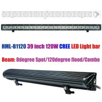 HML-B1120 39 inch 120W 120degree CREE Led light bar FLOOD light SPOT light WORK light