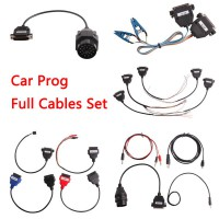 Car Prog Full Cables Set