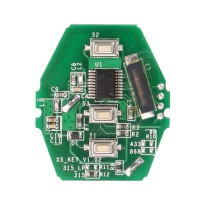 Weihnachtsverkauf YH Key PCB CAS2 (without Key Shell) 315/433/868MHZ for for 03-06 BMW 3/5 Series