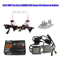 55W Super CanBus Slim HID Xenon Conversion Kit Fit all Cars AC 12V
