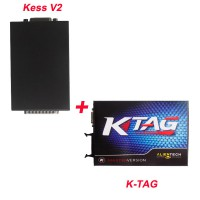 V2.15 KESS V2 OBD2 Manager Tuning Kit Master and V2.10 KTAG Software