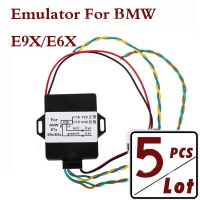 5pcs 2013 BMW CIC Retrofit Adapter Emulator Video In Motion Nav Voice Control Activation Support E9X E6X