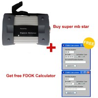 2015.1Version Super MB Star with FDOK Calculator in Same USB Dongle