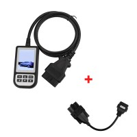 Deutsch Creator C110 V6.0 Code Reader for BMW Plus 20pin to obd2 16 Pin Connector