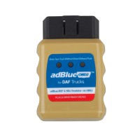 Ad-BlueOBD2 Emulator for DAF Trucks Plug and Drive Ready Device by OBD2