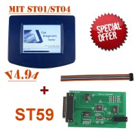 V4.94 Digiprog III Digiprog3 Odometer Master Programmer Entire Kit mit ST01/ST04 Cable Plus ST59 Plug