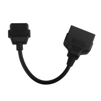 22pin to 16pin OBD1 to OBD2 Connect Cable für TOYOTA Free Shipping