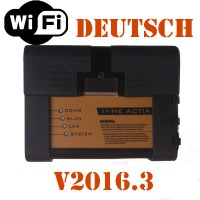 2016.3V ICOM A2+B+C Diagnostic & Programming Tool für BMW mit WiFi mit Deutsch