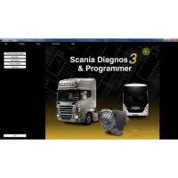 Billg Neueste SDP3 V2.32 Software for SCANIA VCI2 ohne USB Dongle No Need Activation