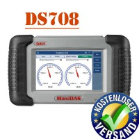Promotion Deutsch Original Autel MaxiDAS Deutsch DS708 Diagnose Free Shipping via DHL