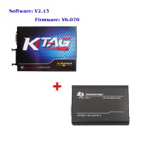 V2.13 KTAG K-TAG Master Version Firmware V6.070 Unlimited Token Plus V54 FGTech Galletto 4 Master BDM-OBD Function
