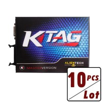 10pcs V2.13 KTAG K-TAG K TAG Firmware V6.070 ECU Programming Tool Master Version