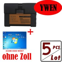5pcs V2018.5 New ICOM A2+B+C Diagnostic & Programming Tool für BMW