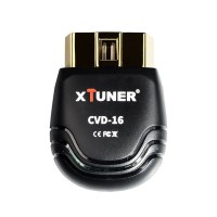 XTUNER CVD-16 12V/24V Heavy Duty and Passenger Car Diagnostic Tool Bluetooth Truck Car OBD EOBD Scanner Support Android System