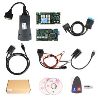 (Schiff aus UK) Lexia-3 Lexia3 V48 for Citroen/Peugeot Diagnostic PP2000 V25 XS Evolution with Diagbox V7.8.3 with LED and Original Chip