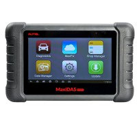 Sale! AUTEL MaxiDAS DS808 (With Conkit) full set Handheld Touch Screen Autel Diagnostic Tools Update Online