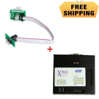 V6.12 X-PROG Box ECU Programmer mit USB Dongle Plus VXSCAN 8Pin Adapter BMW FEM-BDC 95128/95256 Chip