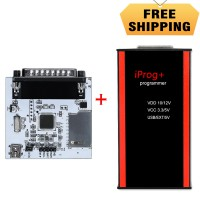 V84 Iprog+ Pro Key Programmer Unterstützt IMMO, Mileage Correction und Airbag Reset Plus IPROG PCF79xx SD-card Adapter