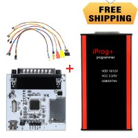 V84 Iprog+ Pro Key Programmer Plus Probes Adapted and IPROG PCF79xx SD-card Adapter and Universal RDIF Adapter