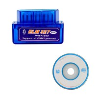 Software V2.1 MINI ELM327 Bluetooth Vgate OBD2 V1.5 mit Deutsch