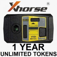[Xmas Sale] (One Year) Unlimited Tokens for VVDI MB Password Calculation