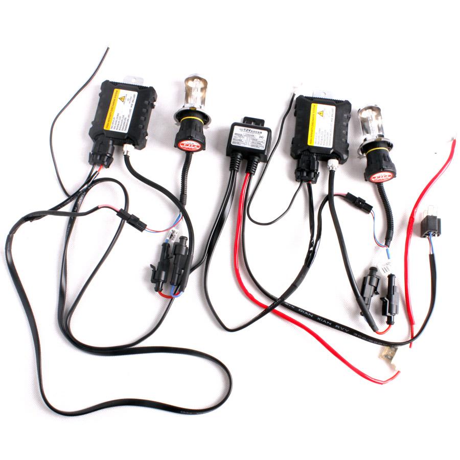 Bi-Xenon HID SLIM Kit H4 HB2 9003 9004 HB1 9007 HB5 H13 Hi ... on