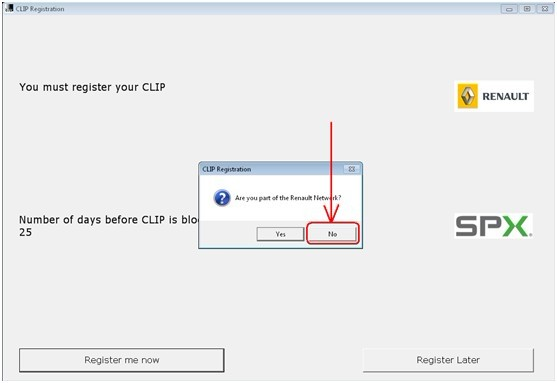 clip registration step 2