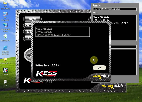 KESS V2 Unlimited Tokens Version Firmware V4.036