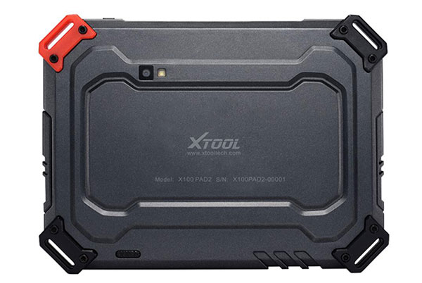 Back View of X-100 PAD 2