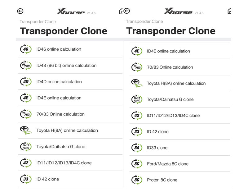 Transponder Editing &Cloning
